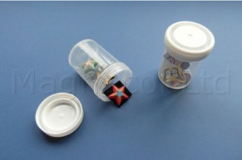 120ml Plastic Storage Containers With Lids - Pack of 25