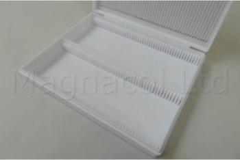 Microscope Slide Archiving Case - White