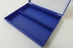 Microscope Slide Archiving Case - Blue