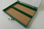 Microscope Slide Deluxe Archiving Case - Green