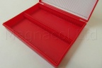 Microscope Slide Archiving Case - Red