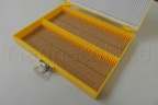 Microscope Slide Deluxe Archiving Case - Yellow
