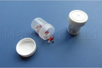 20ml Plastic Storage Containers With Lids - Pack of 100