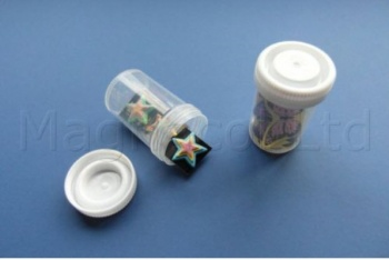 90ml Plastic Storage Containers With Lids - Pack of 25